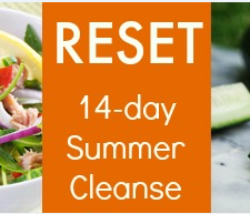 RESET Summer Cleanse button